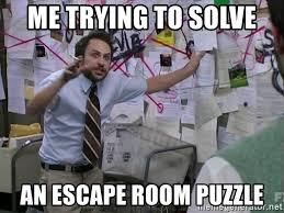 escaping an escape room