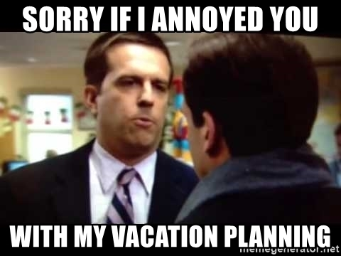 plan your own vacation